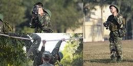 Phản ứng của đồng đội trước màn vượt thử thách đu dây trong quân ngũ của Ưng Đại Vệ?