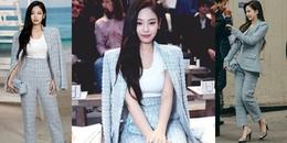 Jennie (BLACKPINK) 'sang chảnh' hết nấc, gây náo loạn Paris Fashion Week 2018