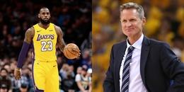 Thuyền trưởng của Golden State Warriors nói gì khi LeBron James đầu quân cho Lakers?