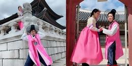 Trường Giang 'thả thính' mỗi ngày 1 ảnh trong chuyến đi Hàn Quốc tuần trăng mật cùng Nhã Phương