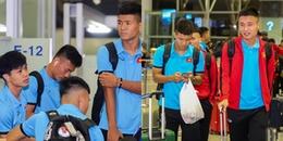 Chùm ảnh: Đội tuyển Việt Nam lên đường sang Hàn Quốc tập huấn chuẩn bị AFF Cup