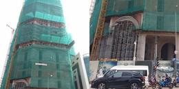 Nam thanh niên tử vong ở toà nhà đang xây dựng tại Sài Gòn