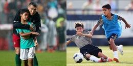 Clip: 'Cậu ấm' nhà CR7 tiếp tục 'dội bom' trong màu áo U9 Juventus