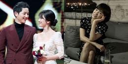 Vợ đi nước ngoài quay phim 1 tháng về bị chê gầy, Song Joong Ki tức tốc mang đi tẩm bổ