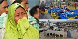 Tang thương sau thảm họa kép động đất, sóng thần ở Indonesia: Nạn nhân phải an táng tại mộ tập thể