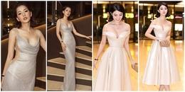 Chi Pu diện váy hở lườn táo bạo, trễ nải vòng 1, Jolie Nguyễn hóa công chúa xinh đẹp