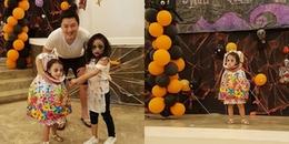 Ma quỷ cũng phải 'chào thua' cô bé ôm đầu đi xin kẹo Halloween khiến người dân hết hồn