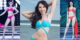 Vượt mặt Thúy An dự thi Hoa hậu Quốc tế 2018, Người đẹp nhân ái Thùy Tiên sở hữu đường cong thế nào?