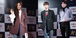 Seohyun vui như tết vì gặp Yoona, mỹ nam WANNA ONE nổi bật tại công chiếu bom tấn zombie Rampant