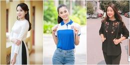 Dàn Hoa hậu Việt Nam ăn diện thế nào ngày đầu đến trường sau khi đăng quang?