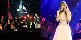 Màn trình diễn gây tranh cãi của Zero 9 khi đứng chung sân khấu với diva Hàn Quốc