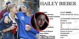 Selena Gomez vừa đi điều trị tâm lý, Hailey Baldwin đã đổi ngay họ thành Hailey Bieber