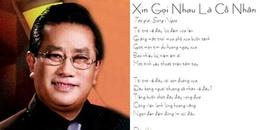 Nhạc sĩ 'Xin gọi nhau là cố nhân' - Song Ngọc qua đời để lại mất mát lớn cho nền âm nhạc
