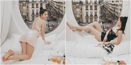 Ngọc Trinh tung clip mặc váy ngủ kiệm vải nhưng đáng chú ý nhất là điểm này