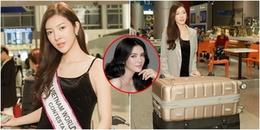 'Bản sao Lý Nhã Kỳ' - Bùi Lý Thiên Hương chính thức lên đường dự thi Miss Vietnam Worldwide 2018