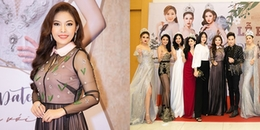 'Tròn mắt' ngắm dàn Hoa hậu, Á hậu Việt 'đổ bộ' đến thảm đỏ sự kiện, đọ sắc vóc 'bất phân thắng bại'