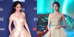 """Dương Mịch xuất hiện già nua, bị Nữ thần Kim Ưng """"hụt"""" vượt mặt tại Đêm hội từ thiện"""