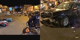 TP. HCM: Nữ tài xế 'xe điên' hất tung hàng loạt xe máy và ô tô trên đường khiến 1 người tử vong