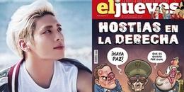 Tạp chí Tây Ban Nha bị chỉ trích nặng nề khi mượn sự qua đời của Jonghyun (SHINee) để châm biếm