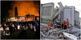 1.200 tù nhân Indonesia phóng hỏa, vượt ngục sau thảm họa kép động đất - sóng thần