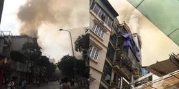Hà Nội: Căn nhà 6 tầng cháy lớn nghi do thắp hương cúng đầu tháng