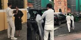 Sau khi lộ ảnh đi thử đồ cưới, Sĩ Thanh bị bắt gặp chụp ảnh cưới gần Nhà Thờ Đức Bà