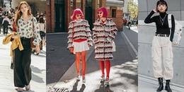 'Hoa mắt' với muôn kiểu lên đồ street style của giới trẻ Hàn tại Seoul Fashion Week