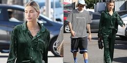 Sau khi đồng ý kết hôn cùng Justin Bieber, Hailey Baldwin đã bắt đầu 'xuề xoà' khi xuống phố