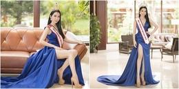 Mỹ nhân sở hữu vòng 3 'khủng' đại diện Việt Nam dự thi Hoa hậu Du lịch thế giới 2018