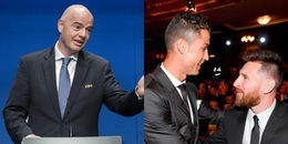 Vắng mặt tại The Best 2018, Messi và Ronaldo bất ngờ bị FIFA doạ phạt