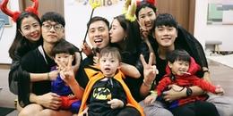 Bộ 3 nhóc tì nổi tiếng Cam - Xoài - Đậu hóa thân thành siêu anh hùng cực cool nhân dịp Halloween