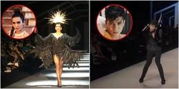 BB Trần '3 đầu 6 tay' làm vedette, 'Nicky Majai' The Face 2018 co giật, làm lố trên sàn catwalk