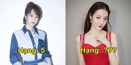 Top 6 nữ diễn viên Hoa ngữ được yêu thích nhất: Thị hậu Kim Ưng cũng phải lép vế Triệu Lệ Dĩnh