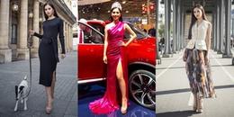 Dù 'một đôi giày đi hoài' nhưng Hoa hậu Trần Tiểu Vy vẫn đẹp lồng lộn như thế này đây