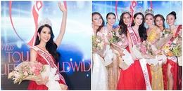 Đại diện Việt Nam xuất sắc đoạt 4 giải phụ và đăng quang Hoa hậu Du lịch Thế giới 2018