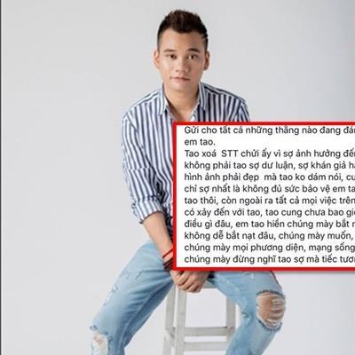 Khắc Việt cực gắt bảo vệ em trai: