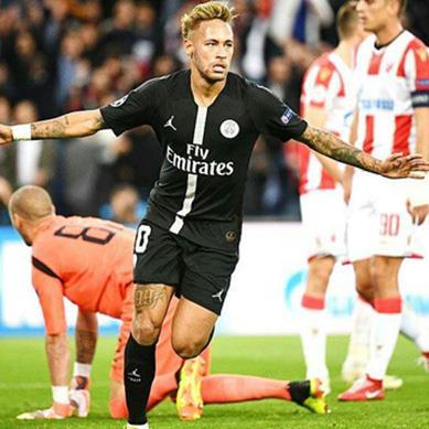 Highlights PSG 6-1 Crvena Zvezda: Điểm 10 cho Neymar!