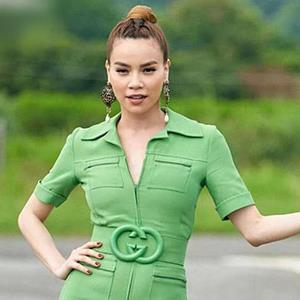 """Fashion Police: Hà Hồ - Thanh Hằng mỗi người một vẻ khi """"đụng hàng"""" sắc xanh cực khó mặc"""