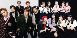 Khoảnh khắc fan Kpop chia sẻ nhiều nhất hôm nay: EXO 'đánh gục' TWICE tại Music Bank