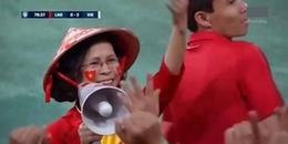 Nón lá, áo dài: 'Chị' cổ động viên đúng chuẩn Việt Nam chiếm spotlight trên sóng truyền hình