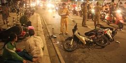 TP. HCM: Tài xế 'xe điên' tẩu thoát sau khi tông hàng loạt xe máy khiến 5 người thương vong