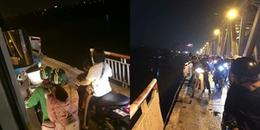 Hé lộ danh tính nạn nhân thứ 2 trong vụ ô tô húc sập lan can cầu rồi lao xuống sông Hồng