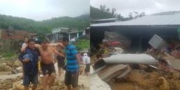 Nha Trang: Ảnh hưởng của bão số 8, 5 người chết và bị thương do sạt lở, sập nhà