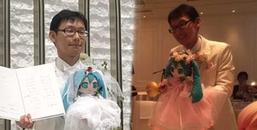 Nam thanh niên Nhật Bản tổ chức hôn lễ với búp bê vì bi kịch với phụ nữ trong quá khứ