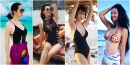 Cán mốc U50 nhưng loạt mỹ nhân Việt vẫn diện bikini, khoe body cực bốc lửa khiến đàn em dè chừng