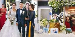 Bận đi du học xứ người, chàng trai được gia đình in hẳn ảnh khổ lớn để check in đám cưới cực ngầu