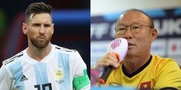 Thầy Park hâm mộ Messi, chọn Việt Nam là đội tuyển trong mơ