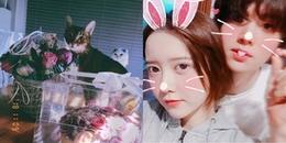 'Thánh cuồng vợ' Ahn Jaehyun mừng sinh nhật Goo Hye Sun: Giản dị nhưng ngọt đến truỵ tim