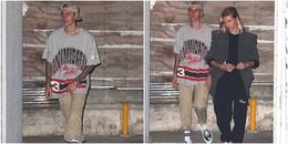 Sau khi cắt tóc, Justin Bieber xuất hiện cực điển trai bên Hailey Baldwin đi chơi Halloween