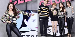 Chi Pu xuất hiện trên talkshow Hàn Quốc, được mỹ nam nhà SM hết lời khen ngợi về nhan sắc